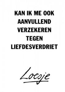 loesje liefdesverdriet (nederlands)