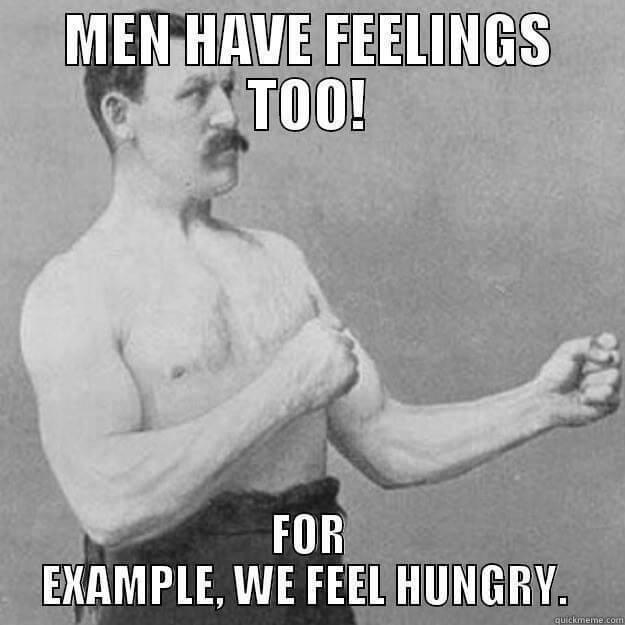 mannelijke gevoelens