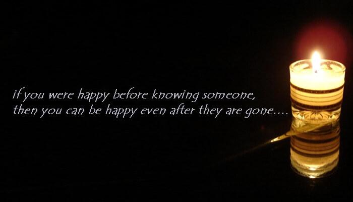 Na relatiebreuk ook gelukkig quote (engels)