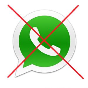 Kein Whatsapp Kontakt